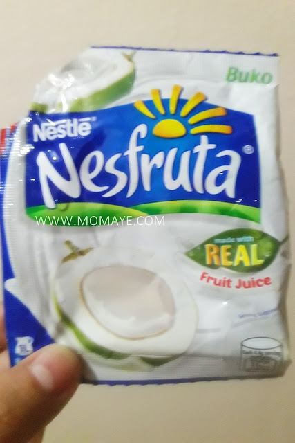 Nesfruta Buko juice, summer refreshment, fruit juice