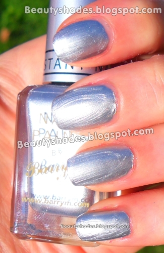 Barry M  Silver Foil Nail Paint