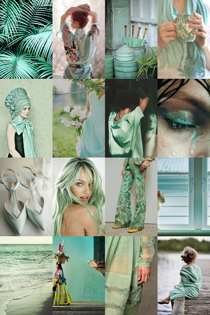 Shades Colours Turquoise and Mint Green | Cool Chic Style Fashion