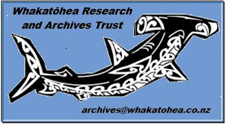Supported By Whakatōhea Research and Archives Trust