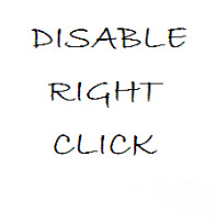 stop right click in blogger