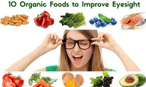 Foods to help improve your eyesight