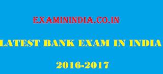 Upcoming Bank Exams in India 2016