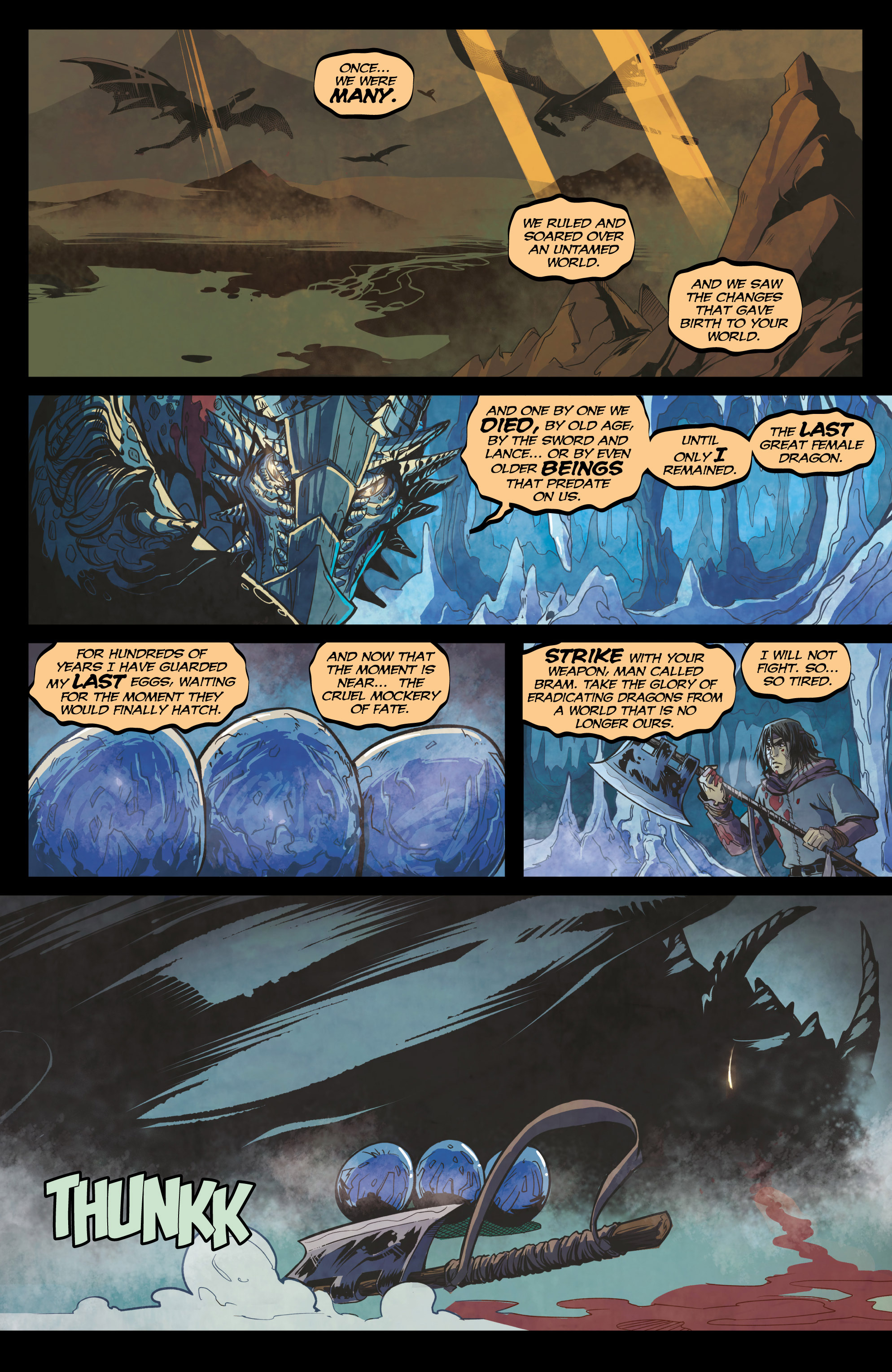 Read online Rogues! (2014) comic -  Issue #4 - 15