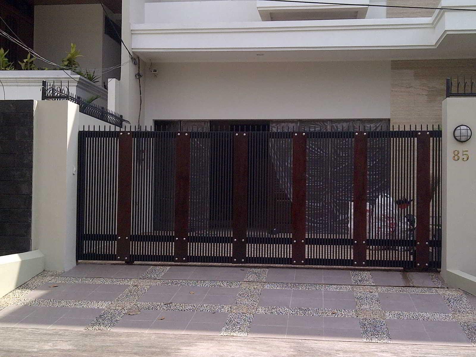 Pintu Pagar Rumah Teres | Desainrumahid.com