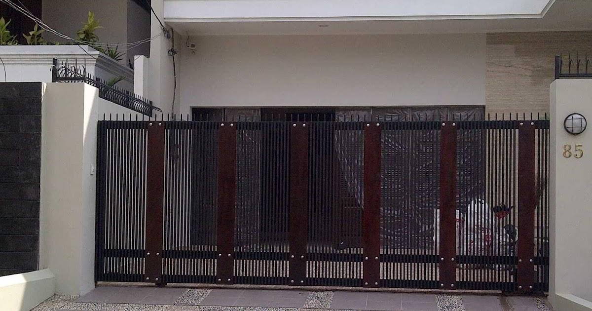 Top Info 38 Model Pintu Pagar Rumah Minimalis Terbaru