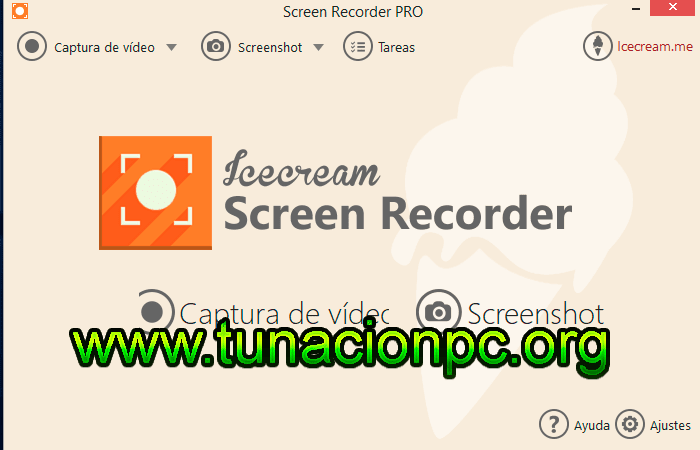 Icecream Screen Recorder PRO Captura tu Pantalla
