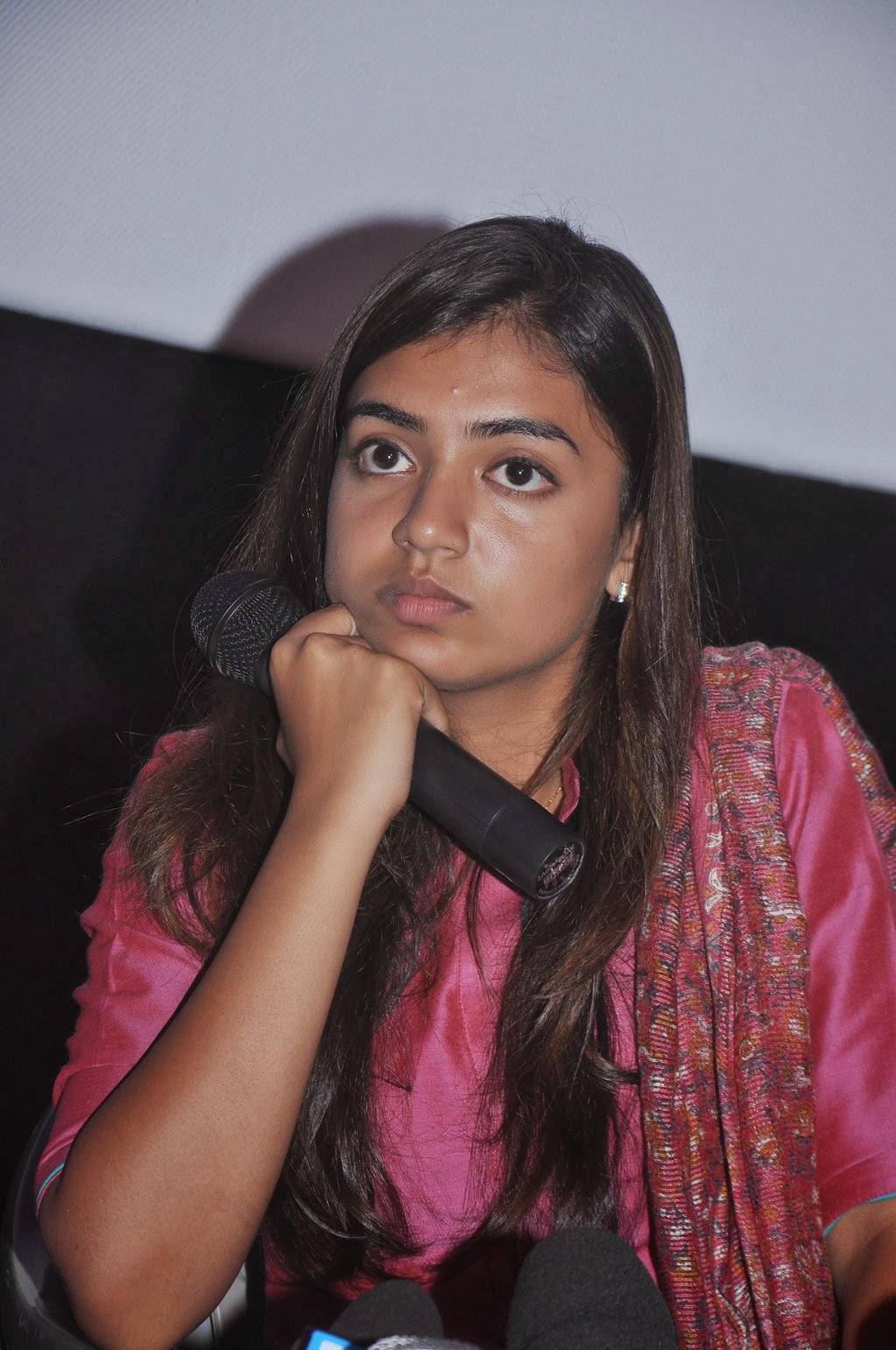Nazriya Nazim Cute Photos: Nazriya Nazim Latest Photos At The Press Meet After