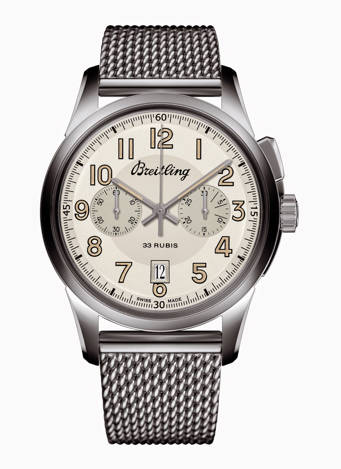 Breitling Transocean Chronograph 19151