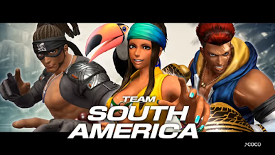 The King Of Fighters XIV Gameplay per il team South America