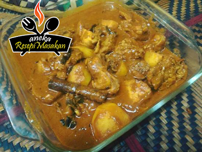 Resepi Gulai Kerisik Ayam http://banyakresepi.blogspot.my/