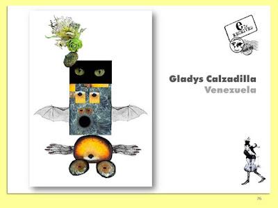 Personaje Cadaver Exquisito - Gladys Calzadilla _ 2018