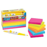 Assorted Post-Its