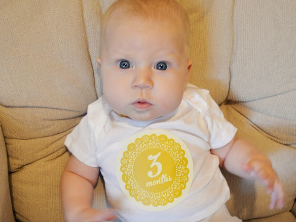 Finley Grace, Three Months.