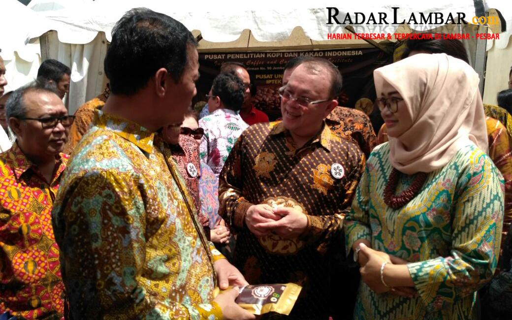 Pemkab Lambar Ramaikan Pameran Expo Kopi Nusantara