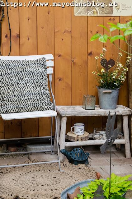 DIY Juteteppich für den Garten häkeln