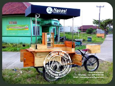 produksi gerobak sepeda kopi