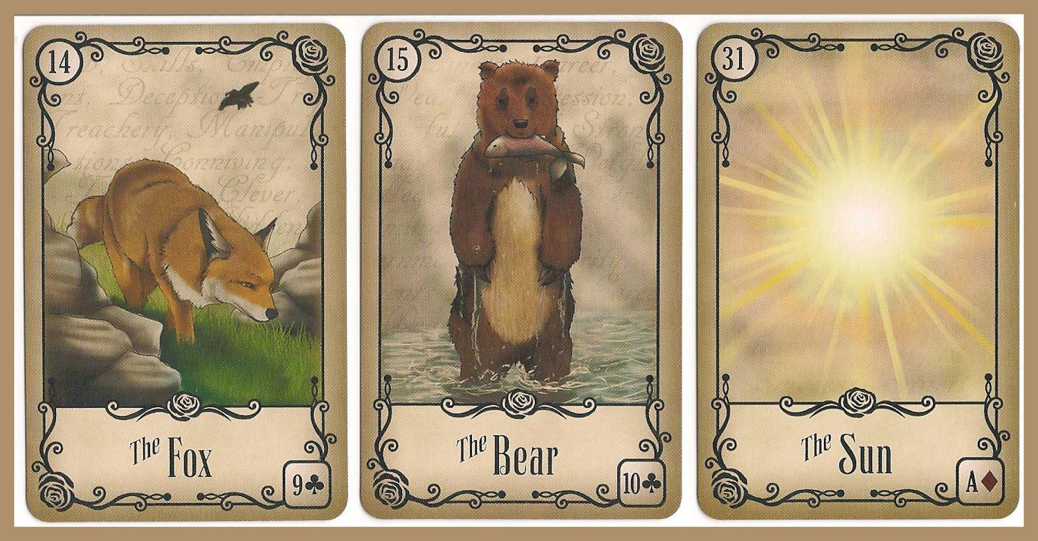 Tarot Notes: Under the Roses Lenormand Reading: Will She Get the Loan?