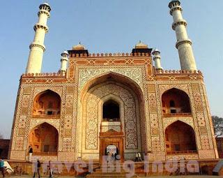 Sikandra Fort Agra Travel Big India
