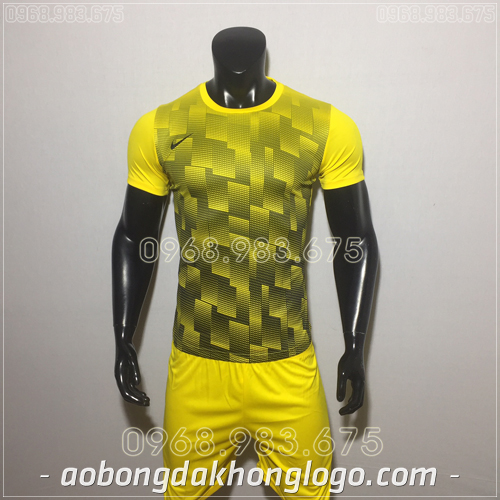 Áo bóng đá không logo Nike HHP David màu vàng