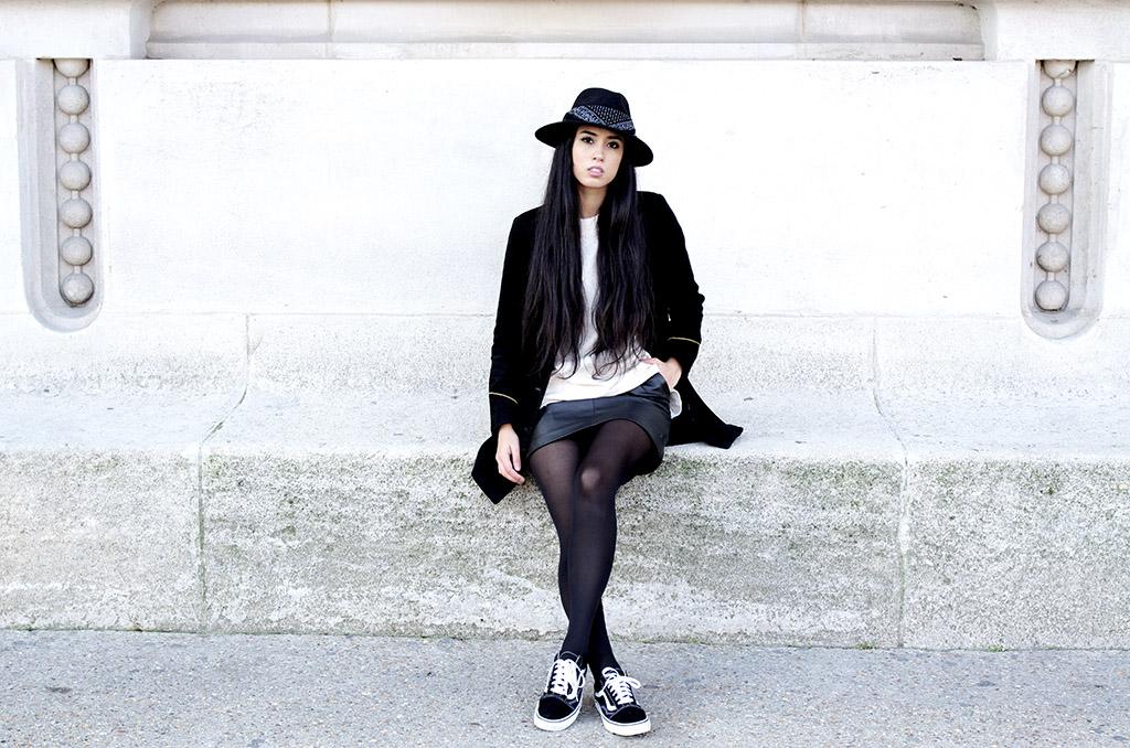Elizabeth l Old skool vans sneakers trend l tendance blog mode l THEDEETSONE l http://thedeetsone.blogspot.fr