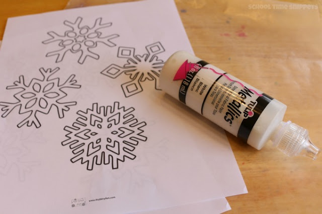 easy snowflake craft