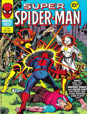 Super Spider-Man #269, Brother Power and Sister Sun