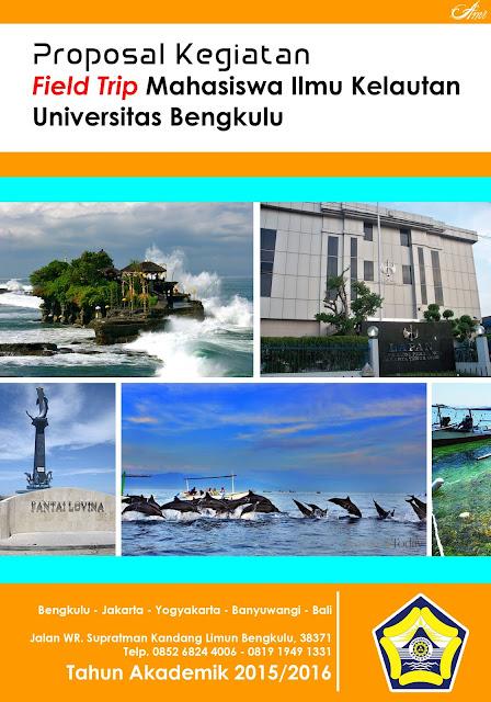 Proposal Kegiatan Field Trip Mahasiswa Ilmu Kelautan Universitas Bengkulu