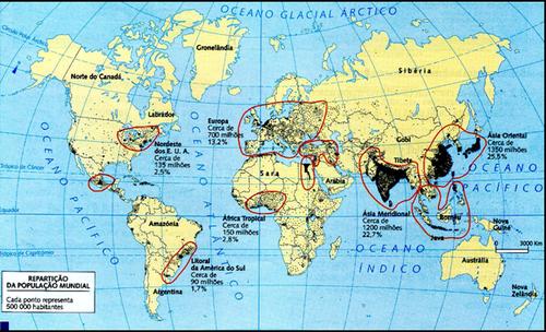 População Brasileira e Mundial na Atualidade