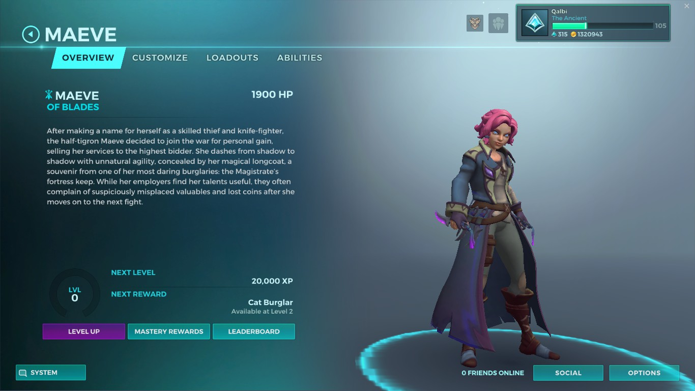 paladins maeve guide