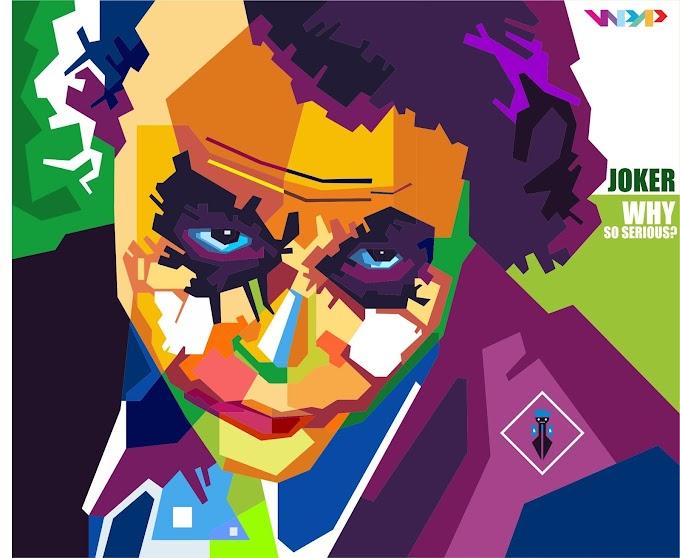 Joker in WPAP by Rahman Kamal