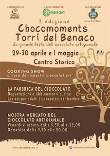 Chocomoments 2016 29 - 30 Aprile e 1 Maggio Torri del Benaco