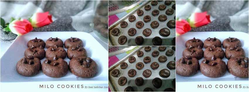Resep Membuat Kue Kering. Milo Cookies
