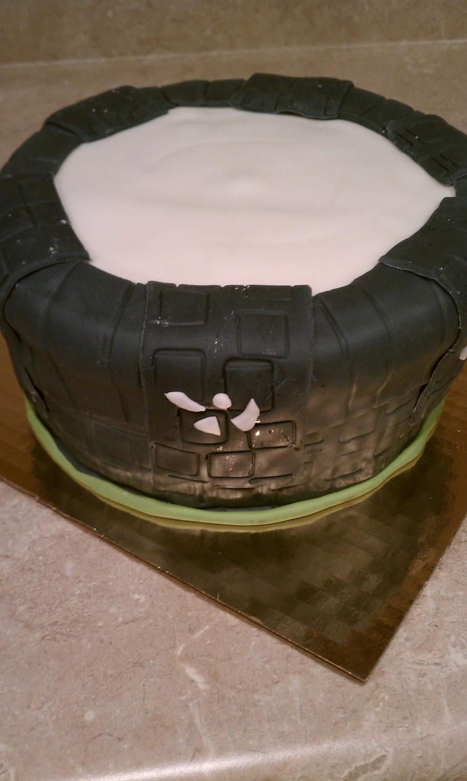 Skylander Portal Cake Recipe