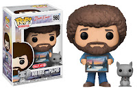 Funko Pop! Bob Ross With PeaPod TARGET