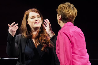 Samling Artist Jade Moffat with mezzo soprano Ann Murray DBE. Photo © Mark Pinder