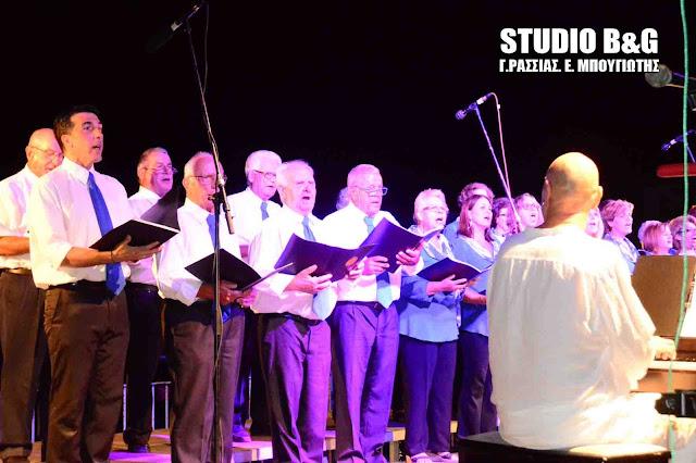 Χορωδιακή συνάντηση στο Πορτοχέλι  υπό το φως της Αυγουστιάτικης πανσελήνου