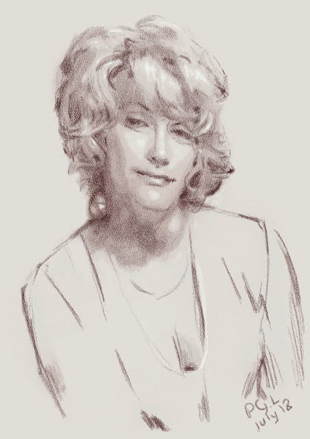 Рисунок женщины