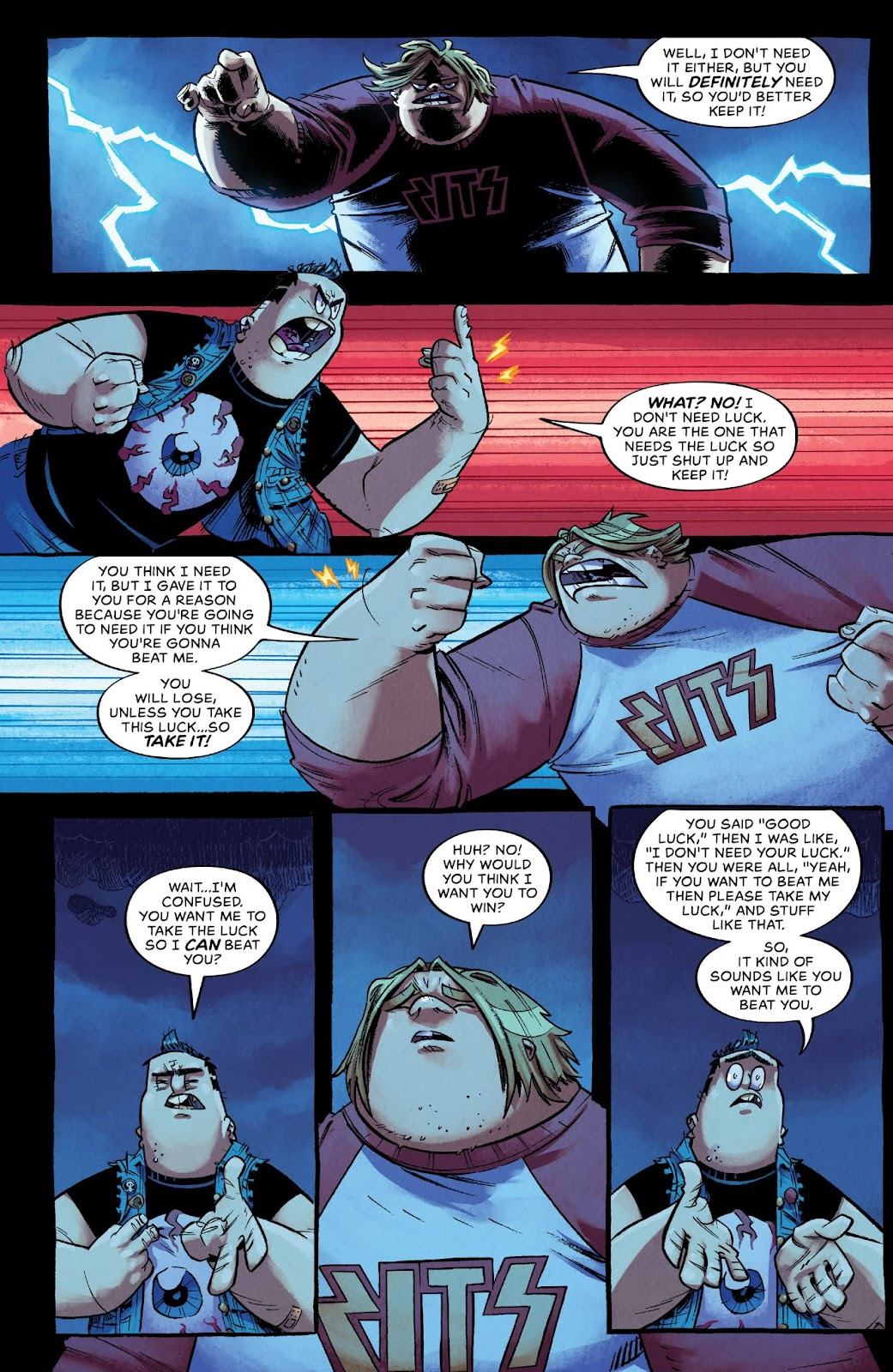 Read online Bully Wars comic -  Issue #3 - 5