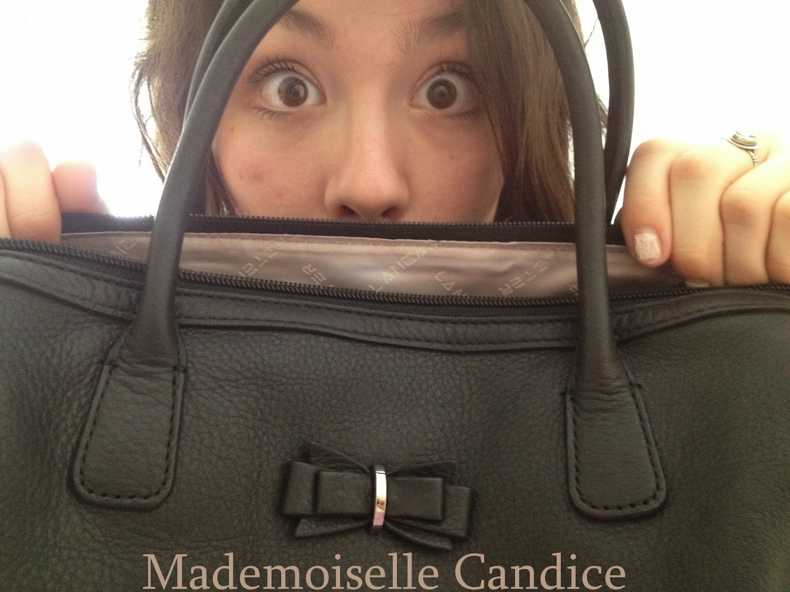 Connu Flavour beans: My pretty bag: Mademoiselle Candice by Lancaster JI12