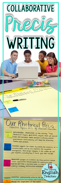 Collaborative Classroom Writing : The daring english teacher writing a class collaborative