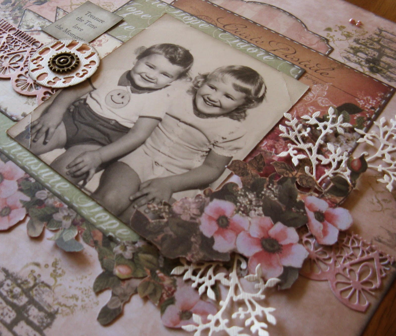 Rose Garden Creations: Treasure The Time Love The Moments By Jo Piccirilli