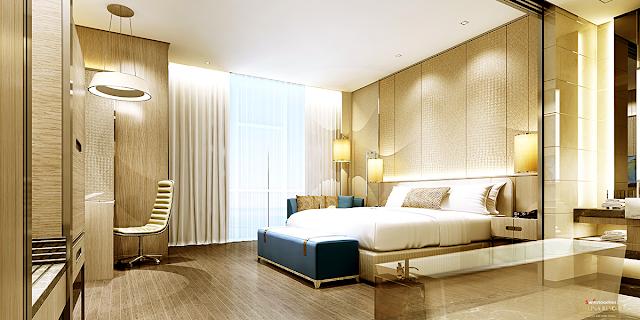 phòng ngủ tại dự án La Luna Nha Trang