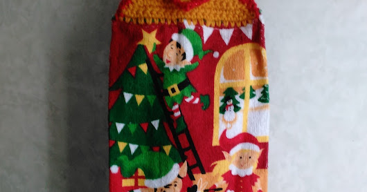 Christmas Hanging Towels, Set 2