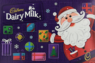 cheaper @Amazon Cadbury Dairy Milk Chocolate Advent Calendar 200g 2 Pack only 8GBP