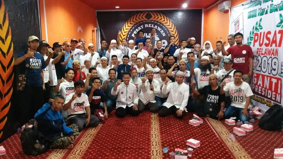 Komitmen Urus Bangsa, Ini Gebrakan Relawan #2019GantiPresiden Makassar