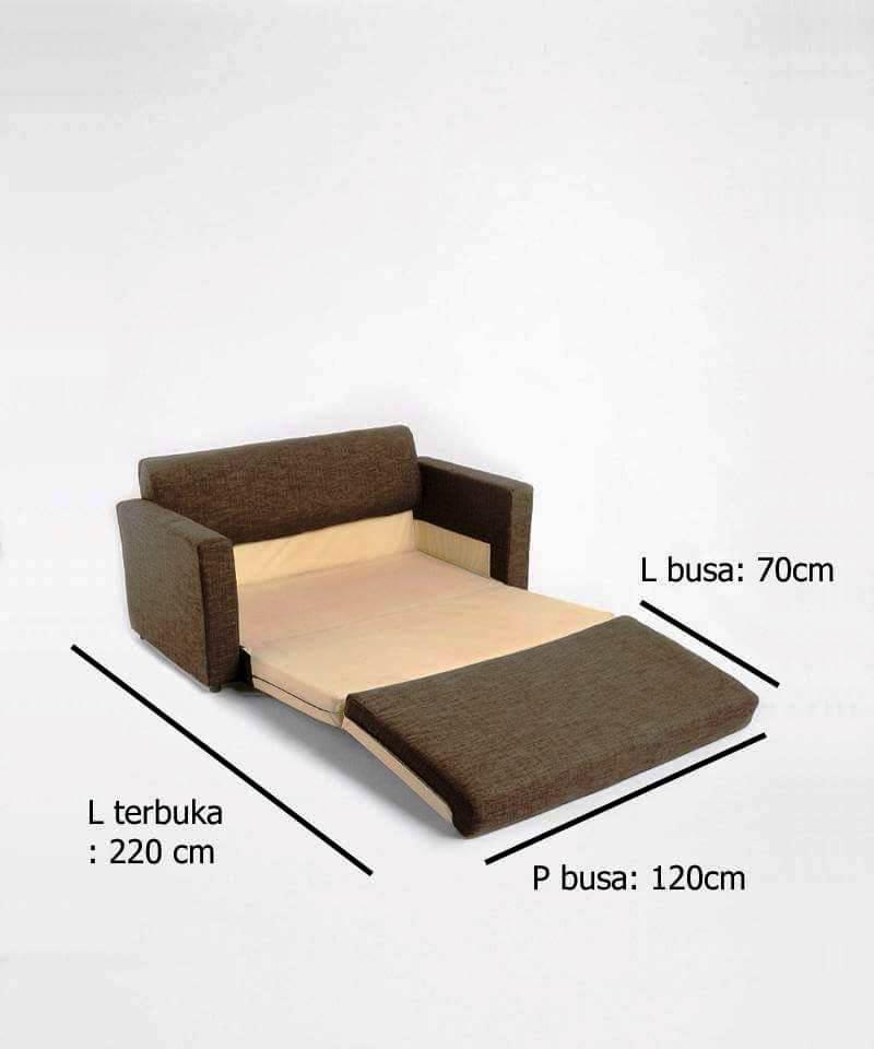 Ukuran Standar Sofa Bed Minimalis