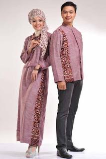 Foto baju muslim couple untuk pasangan suami istri model terkini Contoh 24 Kreasi Baju Muslim Couple untuk Pasangan Suami Istri Model Terkini