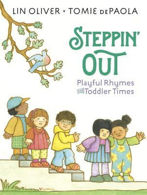 Bea's Book Nook, Review, Steppin' Out, Lin Oliver, Tomie dePaola