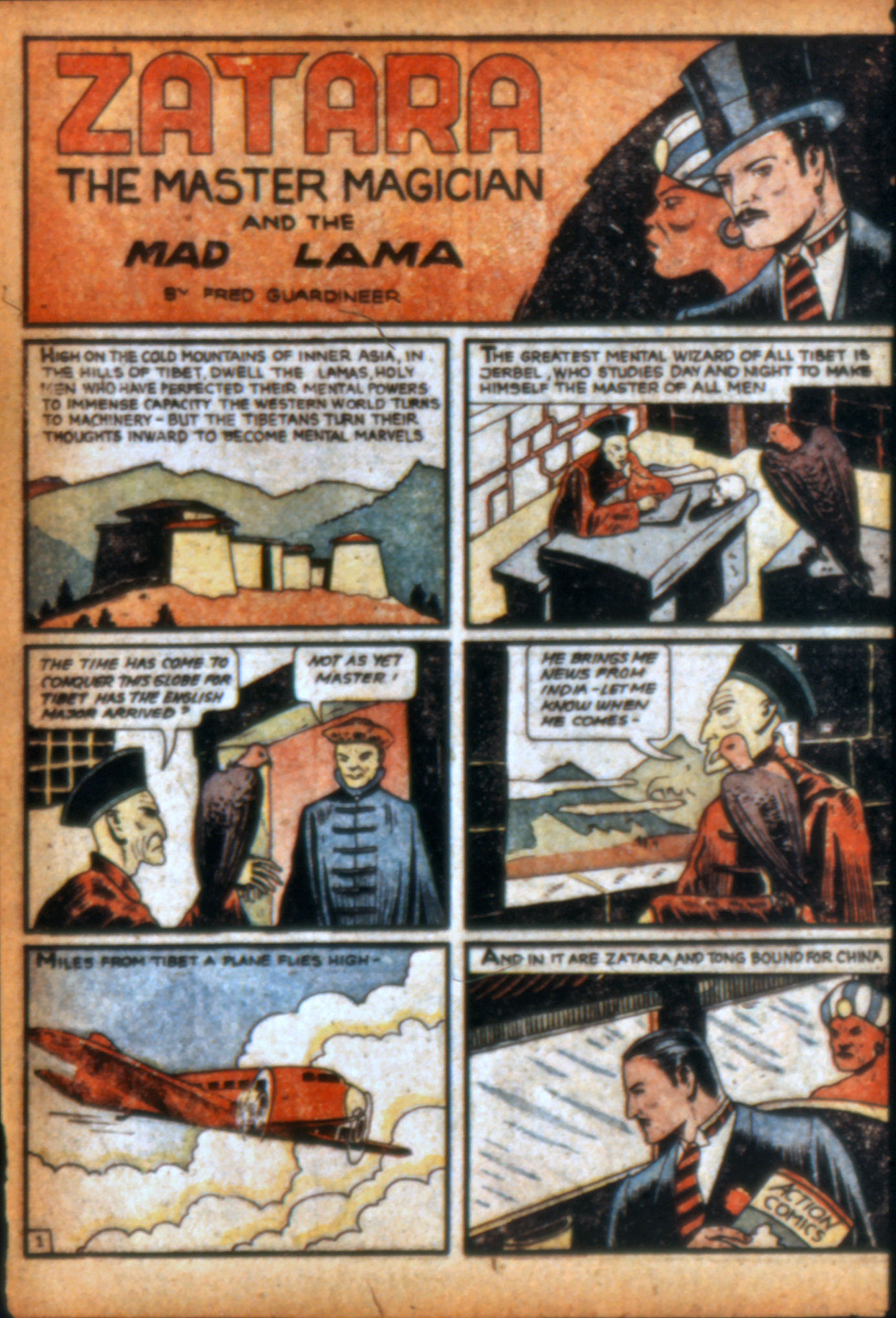 Read online Action Comics (1938) comic -  Issue #9 - 55